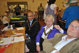 2nd Annual Quiz, 24 September 2011, Mayor Cllr Carol Latif and her consort Quarzi Latif.